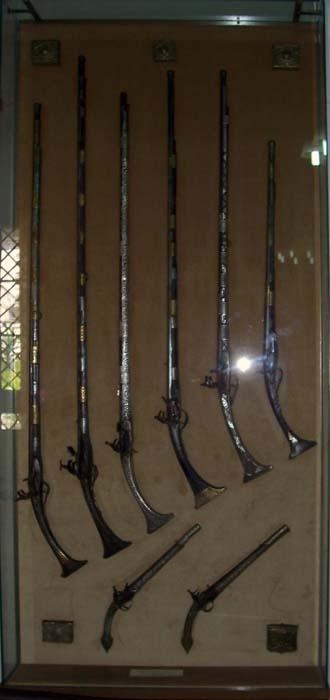 Museo di Perasto - fucili del 1700