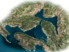 Mappa delle Boche di Cattaro
