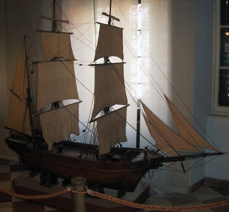 Museo navale di Cattaro - modello di veliero